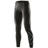 2XU W's Compression Tights Black/Amalfi logo